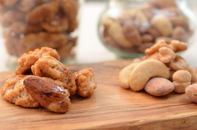 余ったナッツを美味しく使い切る キャラメル・ナッツ&ソルティー・ナッツ
