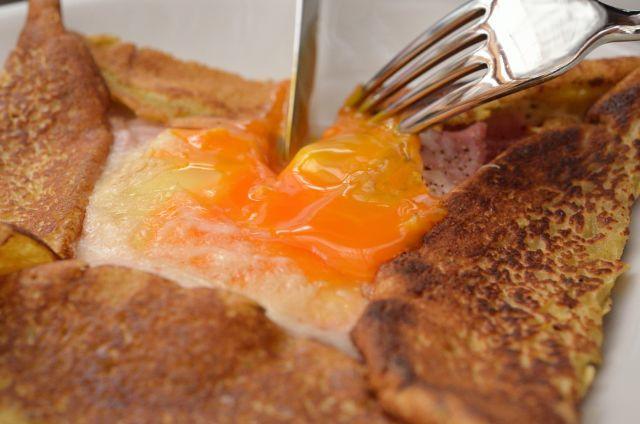 おうちで簡単!本格クレープリーの味 そば粉のガレット