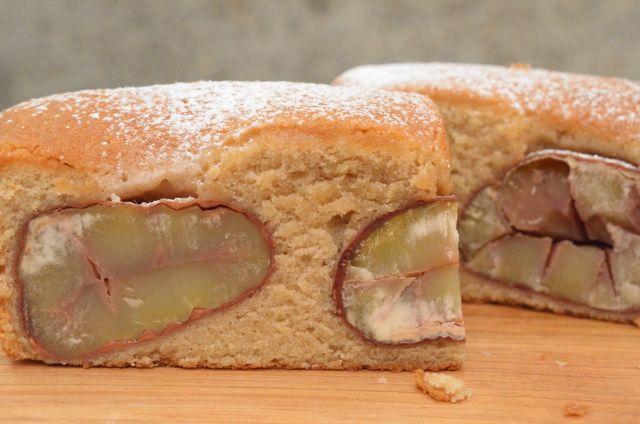 しっとり、ほっくり、秋の味わい。 渋皮栗のケーキ