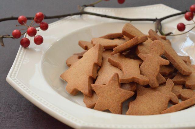 クリスマスシーズンが楽しくなる さくさくスパイスクッキー